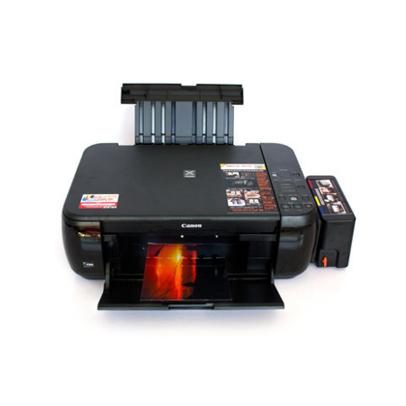 彩色喷墨打印机一体机连供打印复印